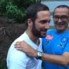 Higuain arriva a Dimaro: stasera presentazione ufficiale della squadra