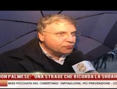 """Terre dei Fuochi, don Tonino Palmese: """"Strage seconda solo alla Shoah"""""""