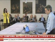 """Caldoro azzera il deficit della sanità campana: """"Abbiamo vinto un campionato"""""""