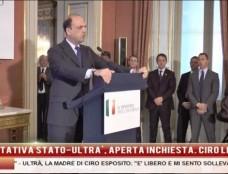 """Trattativa Stato-'a carogna, la Procura smentisce Alfano. Scontri, il gip: """"Ha sparato solo De Santis"""""""