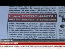 Tratta Fs Napoli-Portici chiusa da 7 mesi, aperta inchiesta