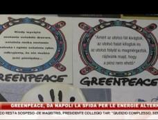 """Greenpeace, riparte da Napoli la sfida per le energie alternative. """"8 News"""" sale a bordo della Rainbow Warrior"""