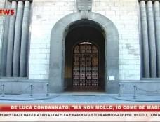 """De Luca condannato a un anno per abuso d'ufficio. Il sindaco di Salerno: """"Io come De Magistris, non mollo"""""""