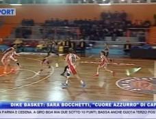 """Dike Napoli Basket: Sara Bocchetti, """"cuore azzurro"""" di capitano. La Bocchetti ospite degli studi di 8 News"""