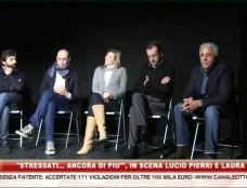 """""""Stressati… ancora di più"""". Lucio Pierri in scena con Laura Freddi"""