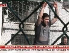 Un calcio all'indifferenza, vecchie glorie vs giovani detenuti