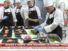 """Design e gusto, Ikea inaugura la cucina """"Stellato"""""""